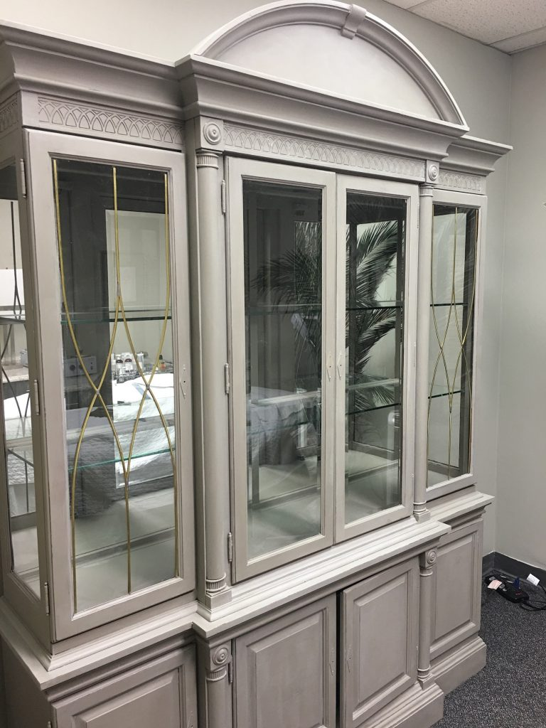 Charmant Annie Sloan {paris Grey} China Cabinet